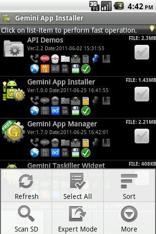Gemini Installer & Clear Application