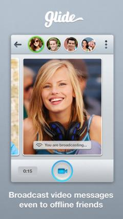 Glide - Video Texting for iPhone