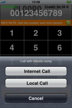 GlooboVoIP for iPhone