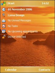 Golden View Theme for Pocket PC