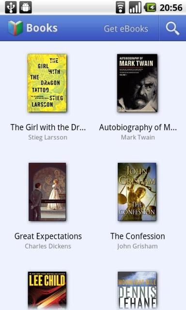 Google Books (Android) - Поисковый гигант официально запустил свой