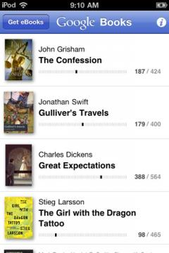 Google Play Books (iPhone/iPad)