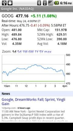 Google Finance (Android)