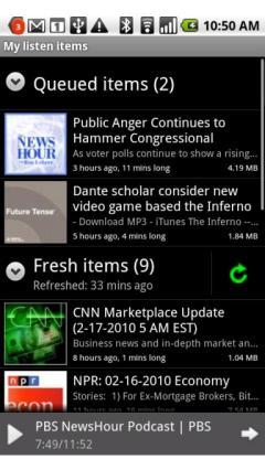Google Listen (Android)