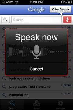 Google Mobile App (iPhone/iPad)