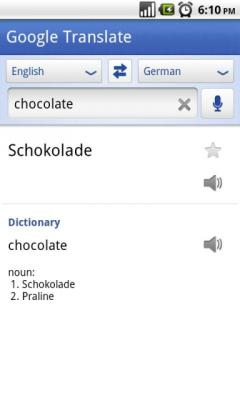 Google Translate (Android)