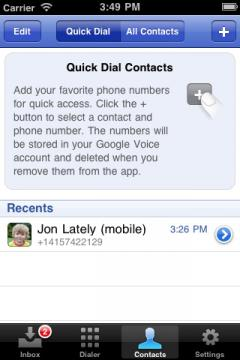 Google Voice (iPhone)