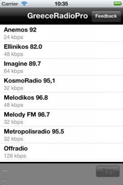 Greece Radio Pro for iPhone/iPad