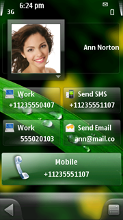 Green Theme for SPB Mobile Shell