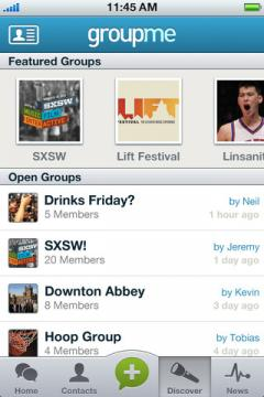 GroupMe for iPhone/iPad