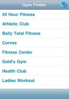 Gym Finder