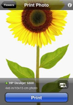 HP iPrint Photo (iPhone/iPad)