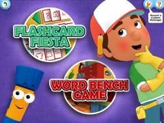 Handy Manny Flicker's Flashcard Fiesta on iPad