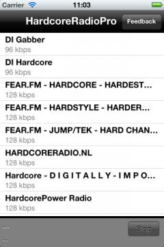 Hardcore Radio Pro for iPhone/iPad