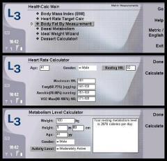 HealthCalc for Nokia 9500/9300