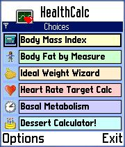 HealthCalc for Series 60