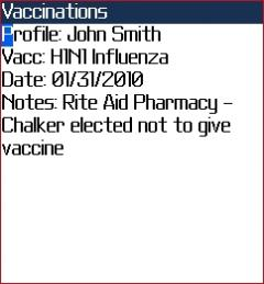 HealthFile Plus (BlackBerry)