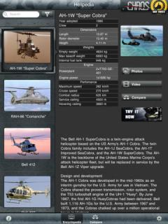 Helipedia for iPad
