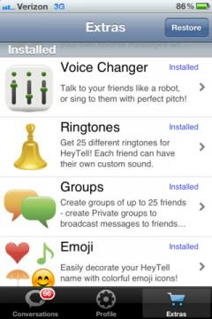HeyTell for iPhone