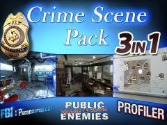 Hidden Objects - 3 in 1 - Crime Scene Pack HD