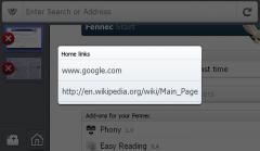 Home Links - Firefox Addon