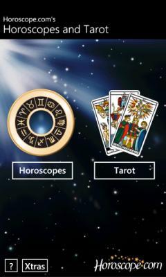 Horoscopes and Tarot (Windows Phone)