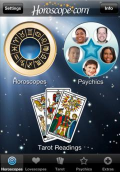 Horoscopes and Tarot (iPhone)