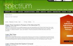 IEEE Spectrum - Firefox Addon