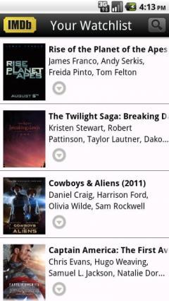 IMDb Movies & TV (Android)