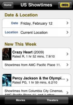 IMDb Movies & TV (iPhone/iPad)