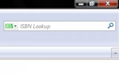 ISBN Barcode Lookup - Firefox Addon