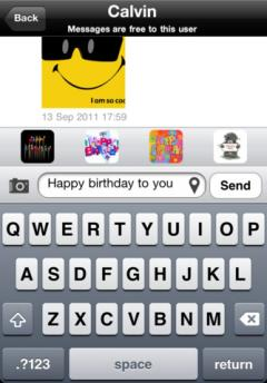 Imsy Messenger for iPhone
