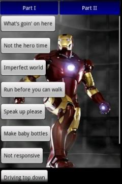 Iron Man Soundboard
