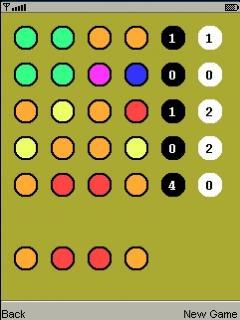 J2ME Memo Game