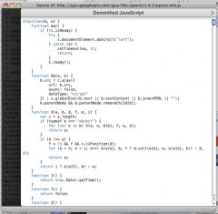JS Deminifier - Firefox Addon