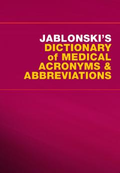 Jablonski's Dictionary of Medical Acronyms and Abbreviations (iPhone/iPad)