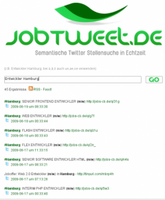Jobtweet.de - English - Firefox Addon