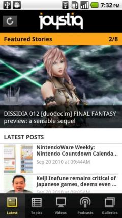 Joystiq for Android