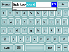 Kbdskin17 Skin for SPB Keyboard