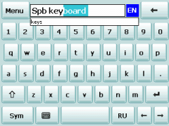 Kbdskin4 Skin for SPB Keyboard