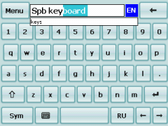 Kbdskin7 Skin for SPB Keyboard