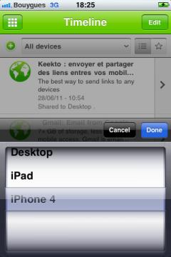 Keekto for iPhone