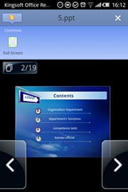 Kingsoft Office Reader for Android Free