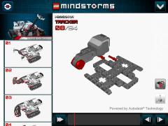 LEGO MINDSTORMS 3D Builder for iPad