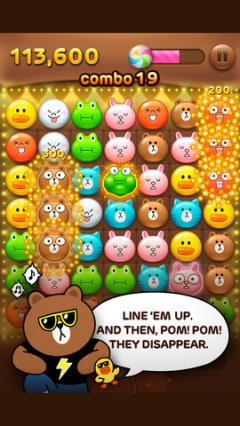 LINE POP for iPhone
