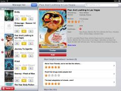LOVEFiLM by Post for iPad