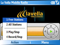 La Vella Mobile Radio (Java)