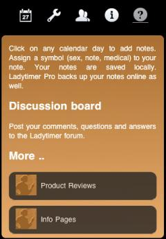 Ladytimer Ovulation Calendar Free (iPhone)