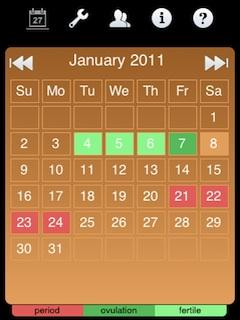 Ladytimer Ovulation Calendar (Java)
