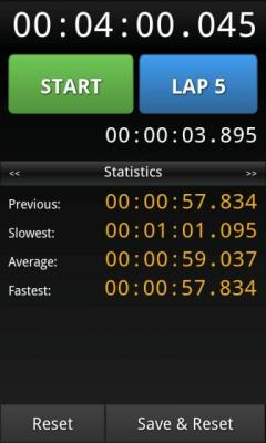 LapStar Stopwatch Lite